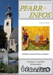 Sommer-Info 2014