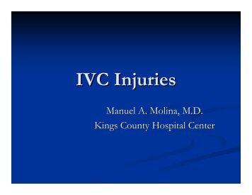 IVC Injuries