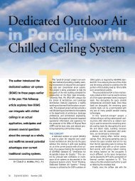 T - Dedicated Outdoor Air Systems (DOAS)