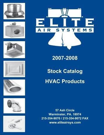 Stock Catalog DCG - Elite Air Systems, Inc.