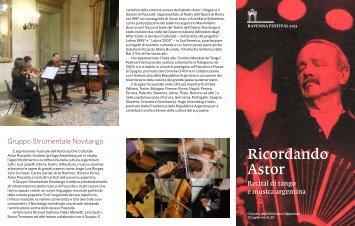 PDF Ricordando Astor - Ravenna Festival
