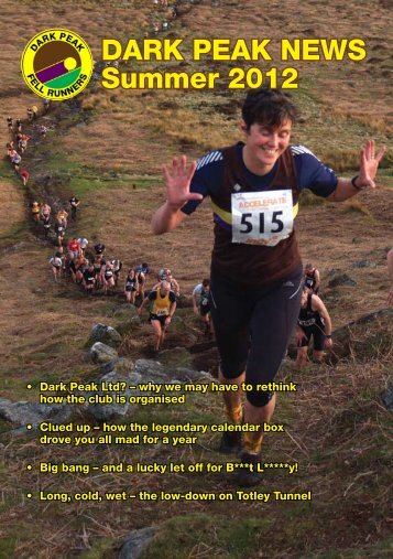 DARK PEAK NEWS Summer 2012 - Dark Peak Fell Runners