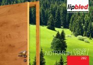Notranja vrata - Lip Bled