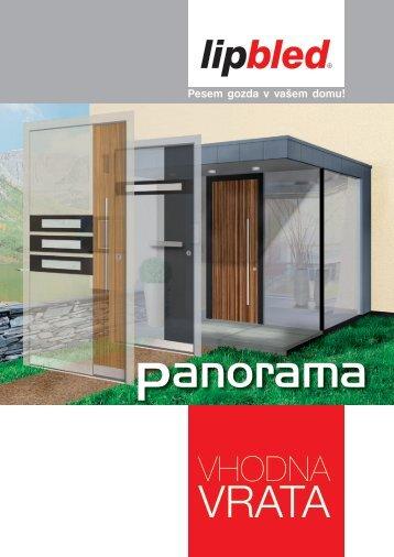 NOVO - Vhodna vrata_PANORAMA - Katalog / lipbled