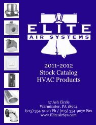 Stock Catalog 2011-2012.pub - Elite Air Systems, Inc.