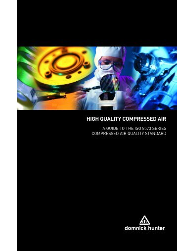 HIGH QUALITY COMPRESSED AIR - Glauber Equipment Corporation