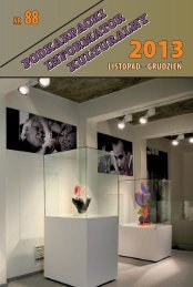 listopad – grudzień Nr 88 - Wojewódzki Dom Kultury w Rzeszowie