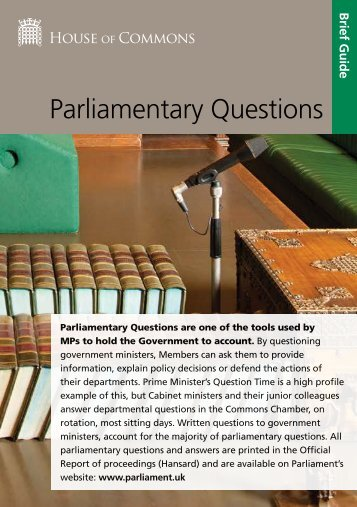 Parliamentary-Questions