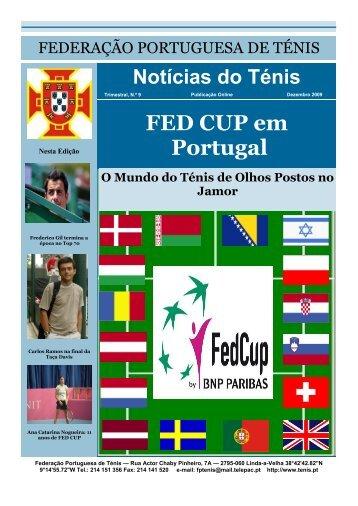 FED CUP em Portugal - Webnode