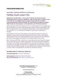 Heißes Duell unterm Eis - Der Weissenseerhof