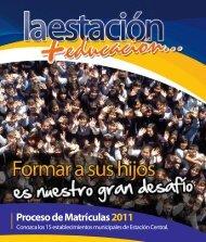 Descargar Revista 2010 PDF - Municipalidad de Estación Central