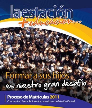 Descargar Revista 2010 PDF - Municipalidad de Estación Central