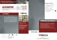 Catalogue projets PAF - Viaméca