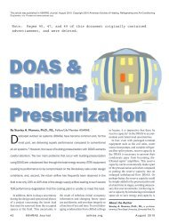 Note - Dedicated Outdoor Air Systems (DOAS)