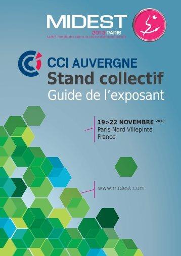 la plaquette commerciale - CCI Puy-de-Dôme