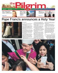 Issue 37 - The Pilgrim - April 2015 - The newspaper of the Archdiocese of Southwark