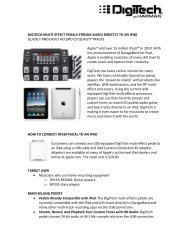 DigiTech Multi-Effects to iPad Sales Guide.pdf - Erikson Music