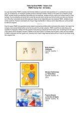 Visite familiale P&WC - Galerie d'art P&WC Family Visit - Art Gallery