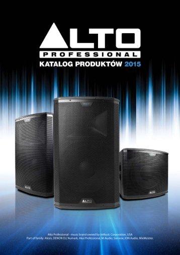 Katalog Alto Professional 2013 (PDF - 2.13 MB) - Lauda Audio