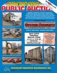 SALE DATE - Cincinnati Industrial Auctioneers,  Inc.