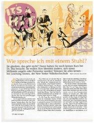 Gerhard Waldherr - Wie spreche ich mit einem Stuhl?