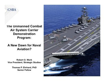 Air System Carrier Demonstration Program - Center for Strategic and ...