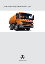 Unsere kommunalen Straßendienstfahrzeuge.