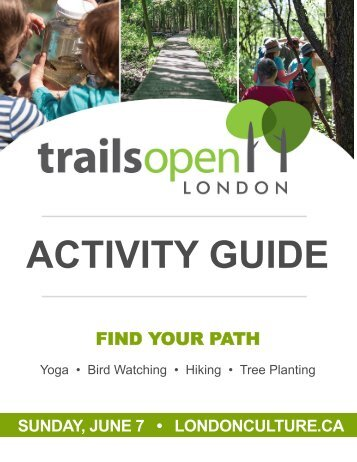 Trails Open 2015 Map Guide