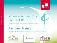 INTERWINE Pavillon France - ccifc
