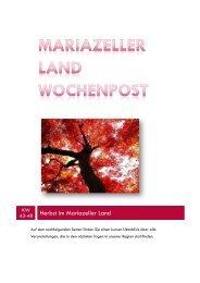 IRISCHE WOCHEN IN DER STEIERMARK Vom 12. bis 27. Oktober ...