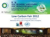 Low Carbon Fair 2012 - ccifc