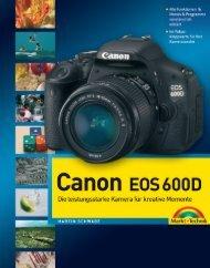 Canon EOS 600D - ISBN 978-3-8272-4718-6 ... - Markt und Technik