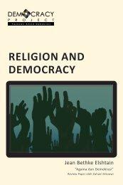 RELIGION AND DEMOCRACY - Democracy Project