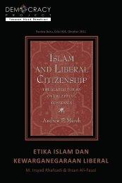 etika islam dan kewarganegaraan liberal - Democracy Project