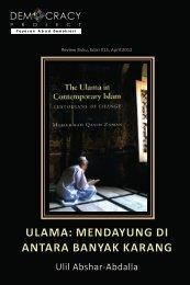 Project ULAMA: MENDAYUNG DI ANTARA BANYAK KARANG