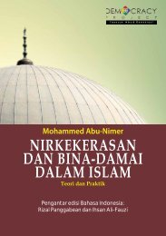 Nirkekerasan Abu-Nimer - Democracy Project