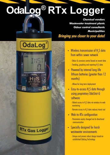 OdaLog® RTx Logger - Thermo Fisher