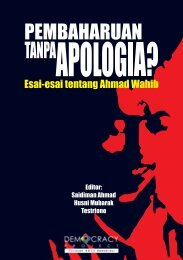 Pembaharuan tanpa Apologia - Democracy Project