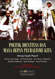 Politik Identitas - Democracy Project