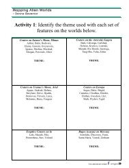 Worksheets - Classroom Astronomer Magazine - To Teach The ...