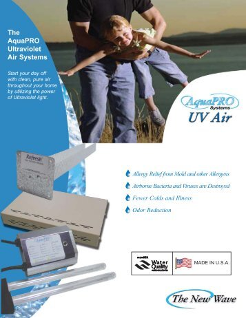 The AquaPRO Ultraviolet Air Systems