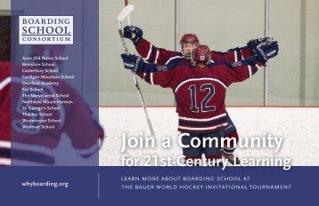 Join a Community - World Hockey Invite