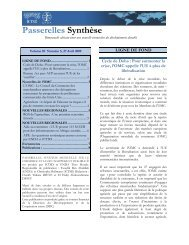 Passerelles Synthèse - ictsd