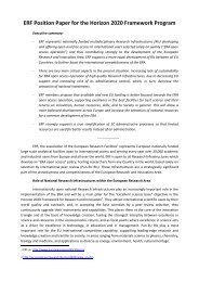 Document - european association of national research facilities
