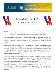 FLASH AGRI - Ambassade de France