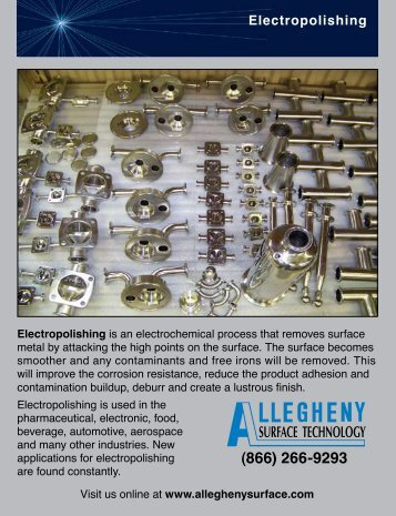 Electropolishing Brochure - Allegheny Bradford Corporation