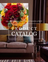 Marlaina Joy Photography Product Catalog -2015