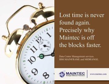 Download Brochure - Maintec Technologies