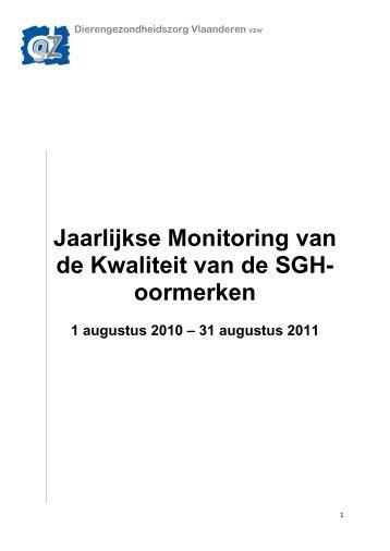 Primo-oormerken - Dierengezondheidszorg Vlaanderen