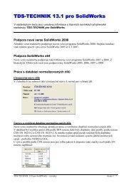 TDS-TECHNIK pro SolidWorks